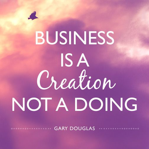 What if you could BE more than DO more to create your business? #inspiringquotes…
