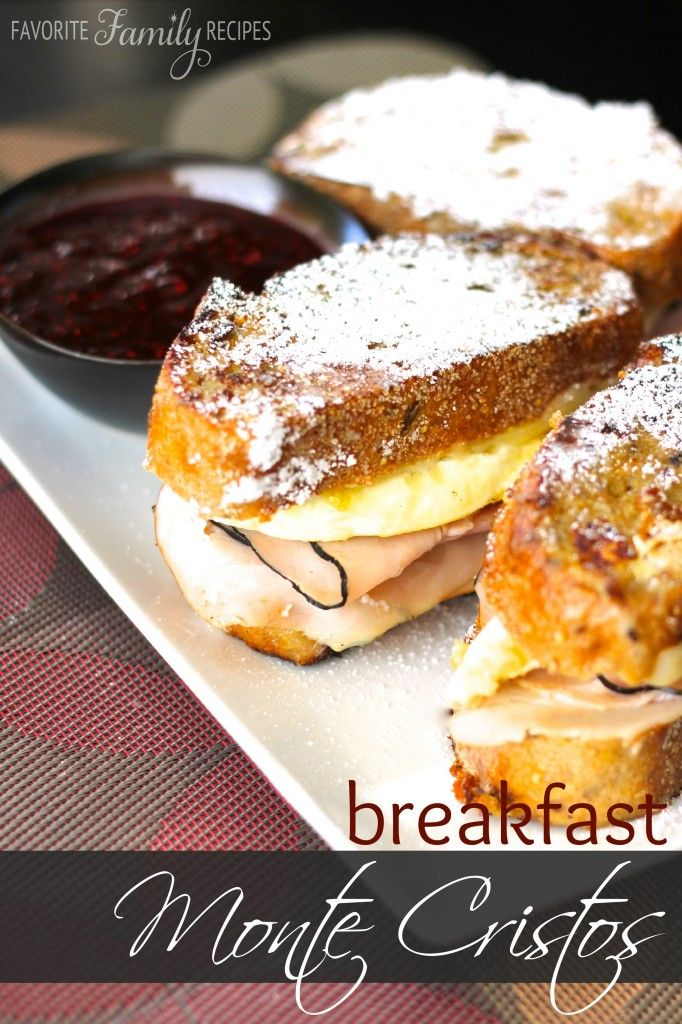 These aren't your average Monte Cristos. Try them! They are easy to make and oh so tasty! #montecristos #breakfastmontecristos