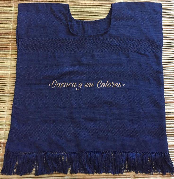 """Oaxaca Y Sus Colores (@oaxaca_ysuscolores) en Instagram: """"Huipil corto de la Sierra, bordado en telar de cintura con algodón fino Talla grande (59 sisa, 68…"""""""