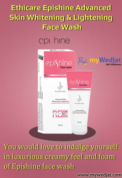 You would love to indulge yourself in luxurious creamy feel and foam  of Epishine face wash
