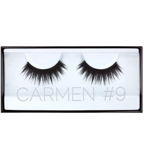 Huda Beauty Classic Lash Carmen ($21) ❤ liked on Polyvore featuring beauty products, makeup, eye makeup and false eyelashes