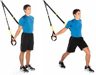 trx shoulder stretch stand facing away improves posture