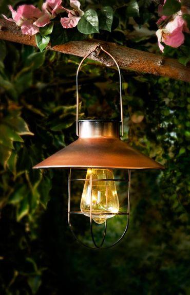 Vancouver metal solar lantern