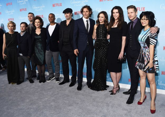 """Then there's this shot of all of the gang back together. It's enough to make you need a new cup of coffee. 