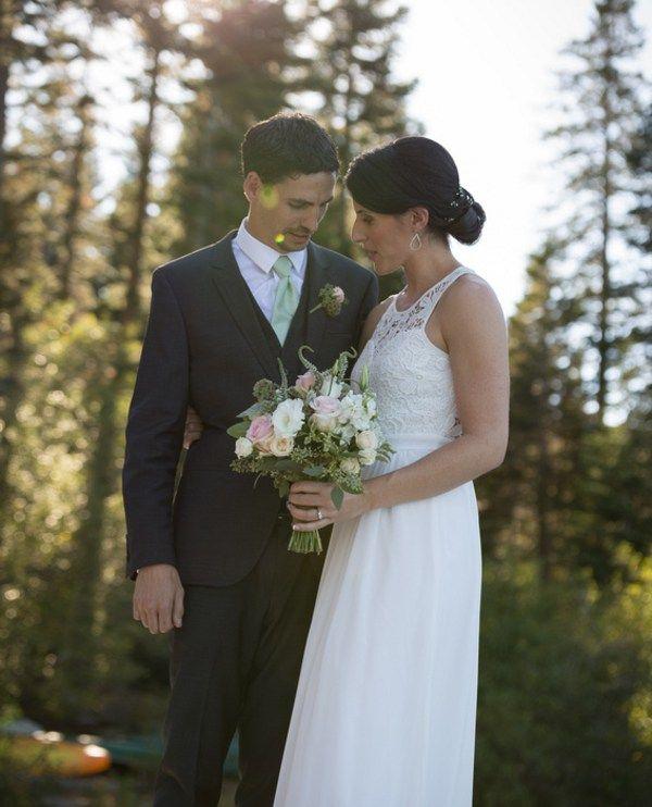 DIY Fallen Leaf Lake Wedding