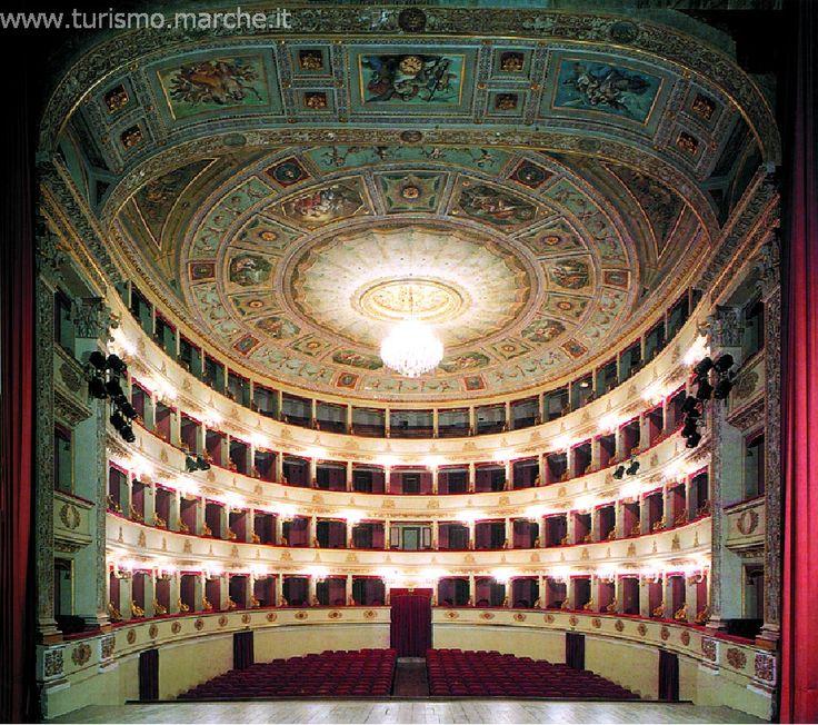 Pergolesi Theatre, Marche. (30 min)