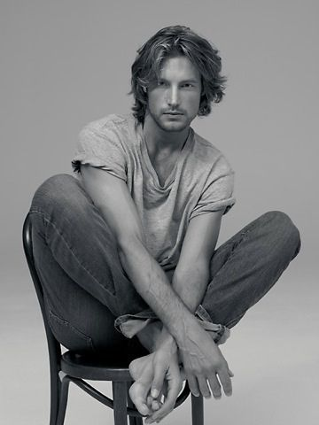 Gabriel Aubry as Trell ~ courtesy of @TheLuvNV http://www.theluvnv.com/2013/09/feature-follow-friday-fav-book-campaign.html