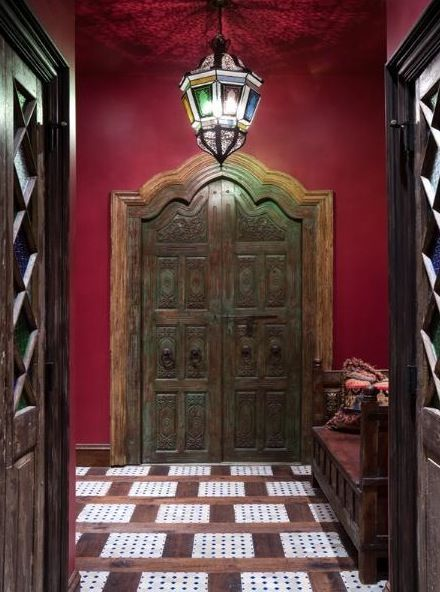 MAYBE FOR ENTRY DOORS TO THE HOUSE Gothic Style Manor