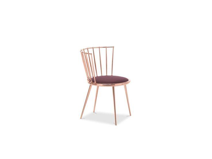 Chaise en fer AURORA | Chaise en fer by Cantori