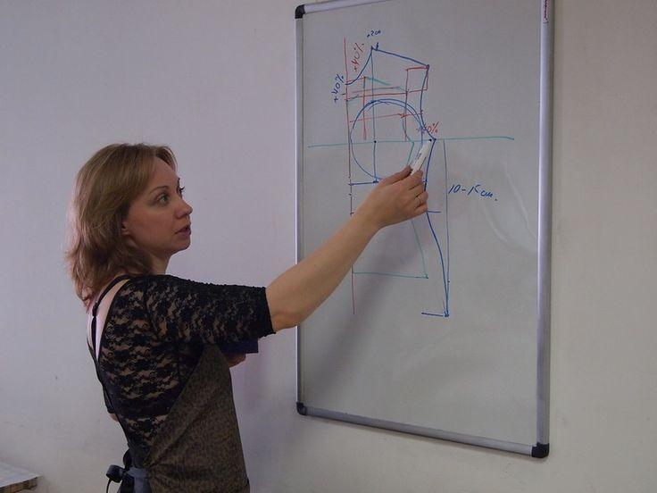 Рассказ о семинаре Лары Соболевой или как добиться хорошей посадки войлочной одежды | Блог Елены Самодивки