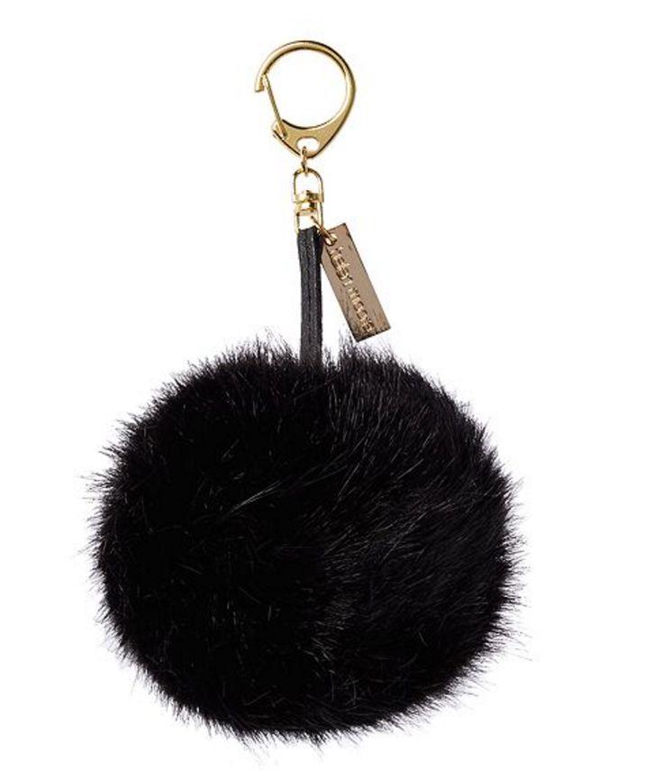 £25.00 - Helen Moore Faux Fur Pom Pom Keyring