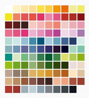Muestra digital de nuestra paleta de colores