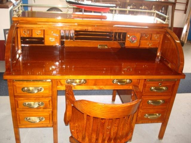sea antique rolltop desk
