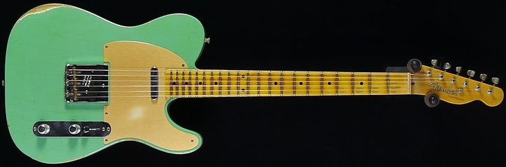 Fender Custom Shop Dealer Select 50s Relic Telecaster Celedon Green  | Coda Music