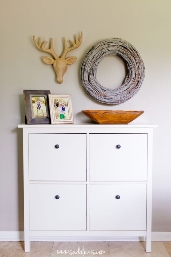 Ikea Hemnes Shoe Cabinet Hidden Storage Solutions For
