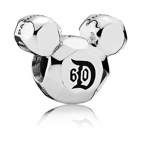 Mickey Mouse Disneyland 60th Anniversary Charm by PANDORA | Disney Store