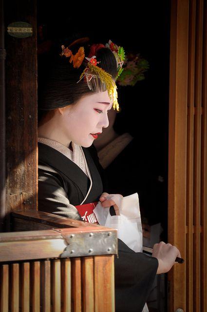 Gion, Kyoto, Japan Maiko manaha