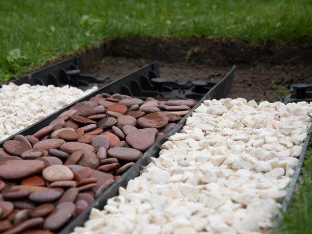 Install Landscape Edging Bricks Edging Brick Border Install To