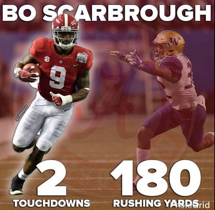 Bo Scarborough sets an Alabama Bowl record with 180 yards rushing  | Alabama 24 Washington 7 in the 2016 Peach Bowl CFB Playoff.