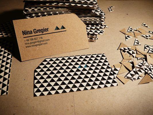 Creative Business Card Designs | Cruzine - more texture