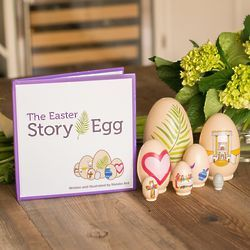 267 best easter gifts images on pinterest the easter story egg colorful nesting toy with resurrection book great christian or catholic gift for children the easter story egg is a tradition that negle Choice Image