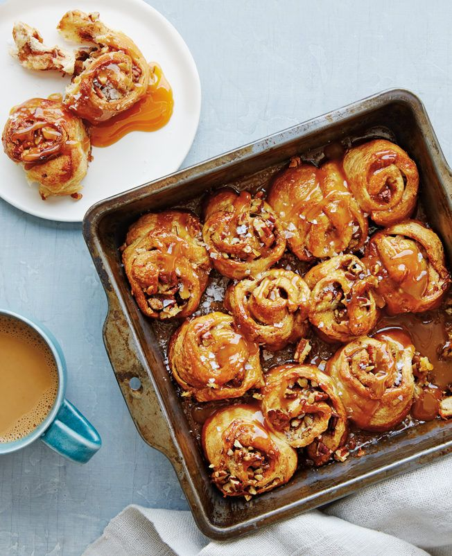 Pecan Sticky Bun Recipe | Williams Sonoma Taste