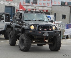 Jeep Liberty at the BAJA Charity Jeep Show
