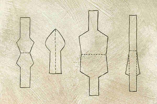 plumas caseras para caligrafía