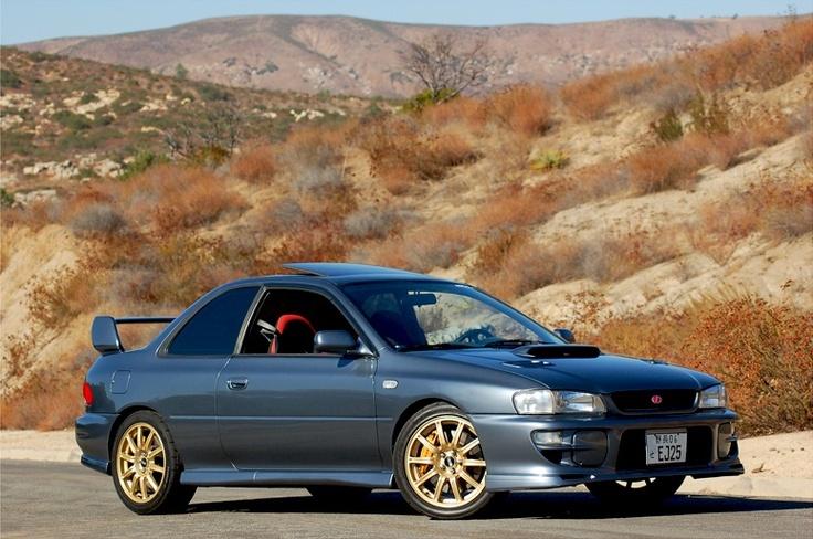2000 #Subaru #Impreza RSTi