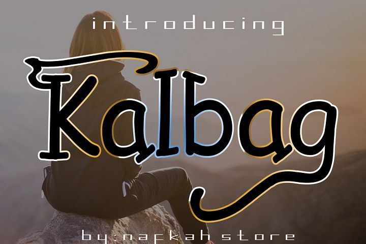 kalbag from FontBundles.net