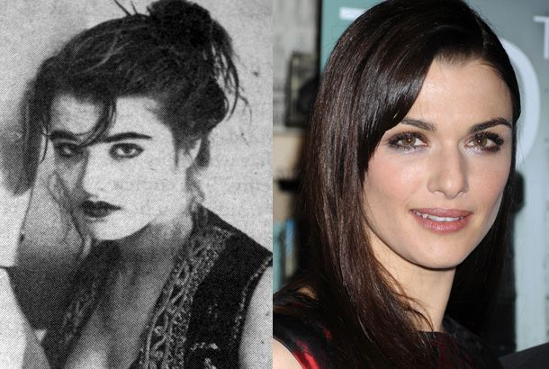 Rachel Weisz in 1990and Rachel Weisz, Today:   She uses #4 ranked Celebrity Stylist, Kate Young.