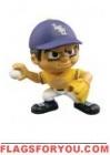 """LSU Tigers Lil' Teammates Series 1 Pitcher 2 3/4"""" tall"""