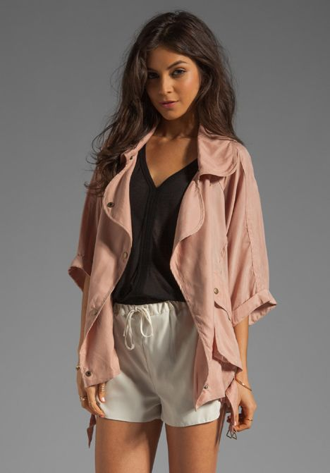 LOVERS + FRIENDS Fun Times Jacket in Natural at Revolve Clothing - Free Shipping!
