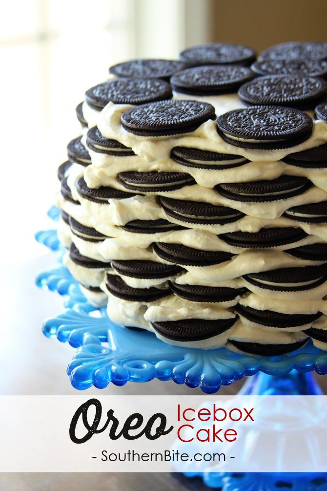Oreo Thins make this Icebox Cake recipe super easy and super delicious! My family went crazy over this dessert!