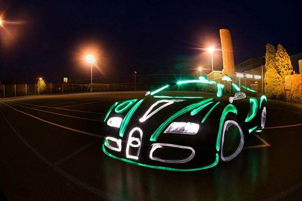 neon bugatti for pinterest - photo #12