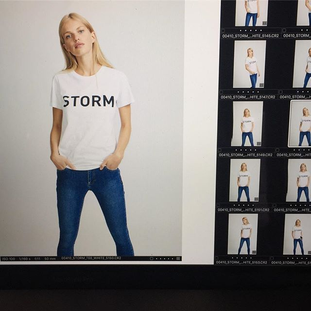 Brand tee in stores from October #stormandmarie #smprespring18 #lookbook