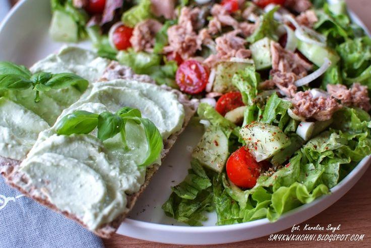 SMYKWKUCHNI: Sałatka z tuńczykiem i pasta z awokado! OBIAD FIT!