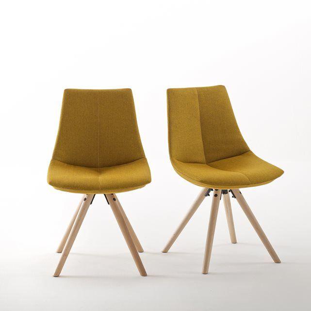 Cadeira acolchoada Asting (lote de 2)