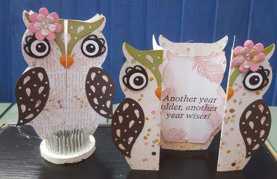 Crafts U Love: Create & Take: Owl Fold-a-long