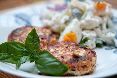 Siskot kokkaa: Pehmeän kermaisia ja raikkaita haukipihvejä basili...