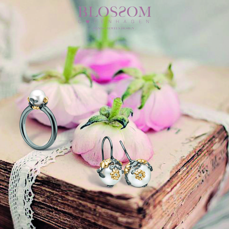 www.blossomcopenhagen.com or www.houseofjew.com Danish jewellery collection designed by Danish designer Christina Elbro Lihn - Show your love and let it Blossom.....
