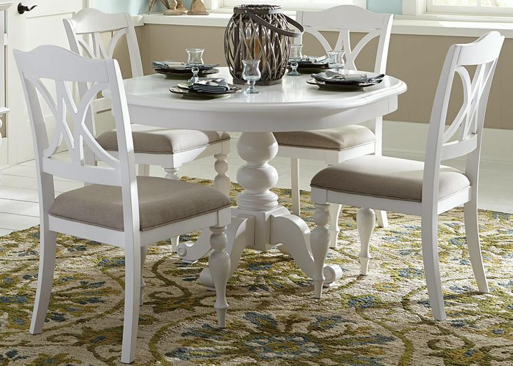 50+ Round Pedestal Dining Table and Chairs - Modern Luxury Furniture Check more at http://www.ezeebreathe.com/round-pedestal-dining-table-and-chairs/