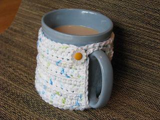 Rocky Ridge Mug Cozy pattern by Jill Tissue