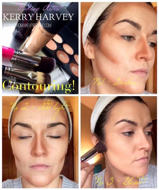 DIY – Natural Bridal/Day Makeup Pt I – Contouring #contourtutorial #contouring #highlighting #makeup