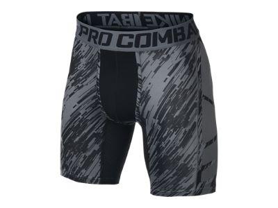 The Nike Pro Combat Hypercool Compression Digital Rain Men's Shorts.