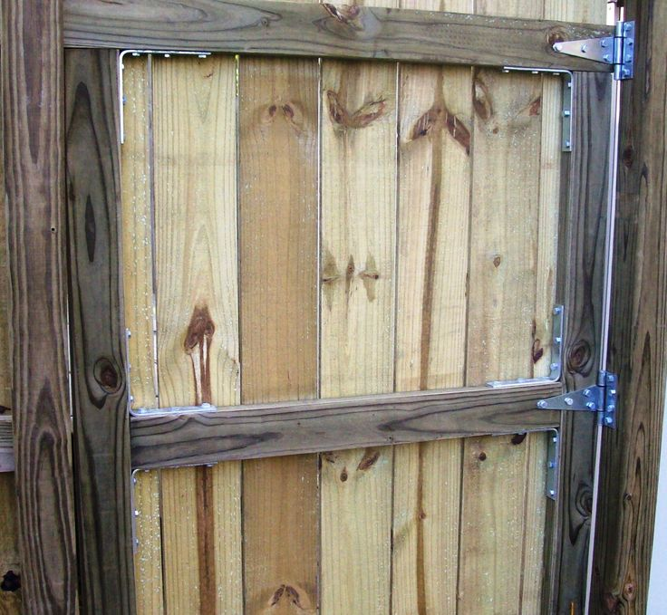 I provide a basic overview of building a wooden gate for a privacy fence.