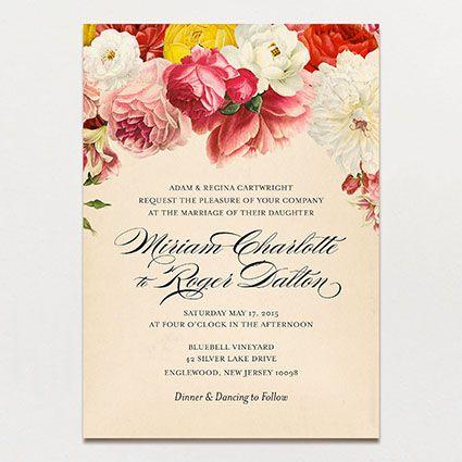 Romantique Invitation