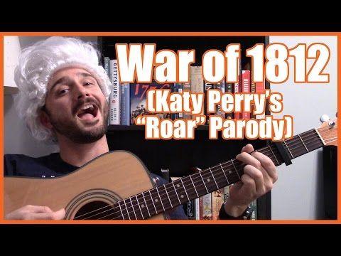 """War of 1812 (Katy Perry """"Roar"""" Parody) - @MrBettsClass - YouTube"""
