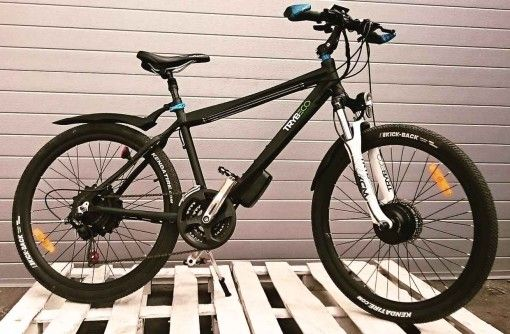 rower elektryczny trybeco terra