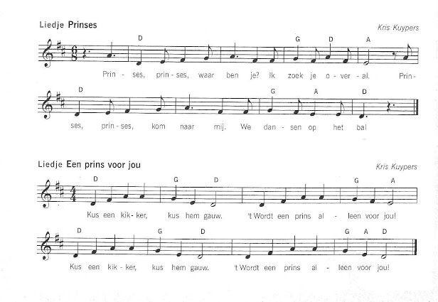 Lied prinses-prinses voor jou